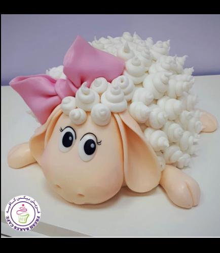 Eid Al Adha Themed Cake - Sheep - 3D Cake 06