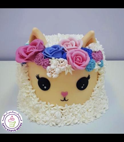 Eid Al Adha Themed Cake - Sheep - 2D Cake 02
