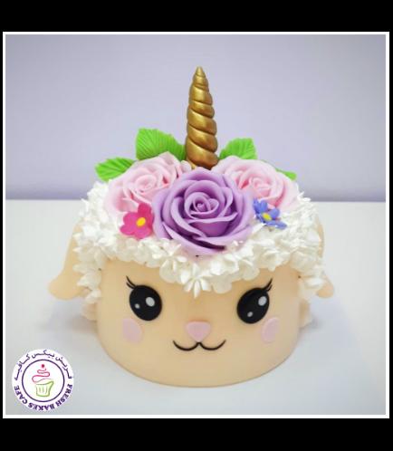 Eid Al Adha Themed Cake - Sheep - 2D Cake - Unicorn