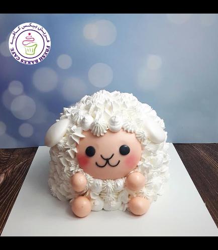 Cake - Sheep - 3D Cake 07