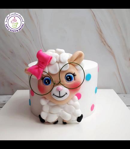 Cake - Sheep - Fondant Picture 04
