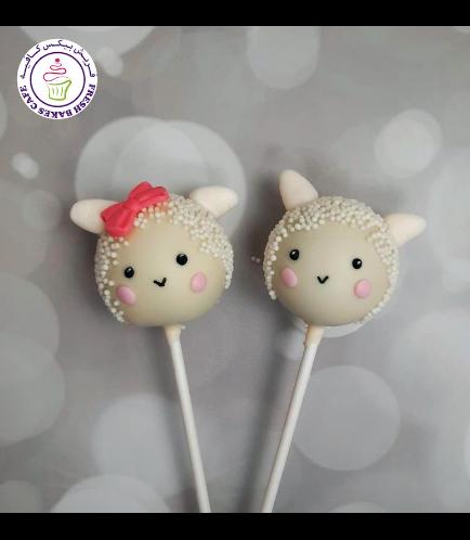 Cake Pops - Sheep 02