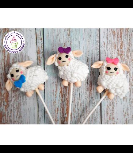 Cake Pops - Sheep 05