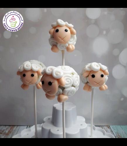 Cake Pops - Sheep 01