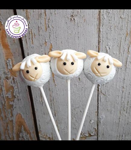 Cake Pops - Sheep 06