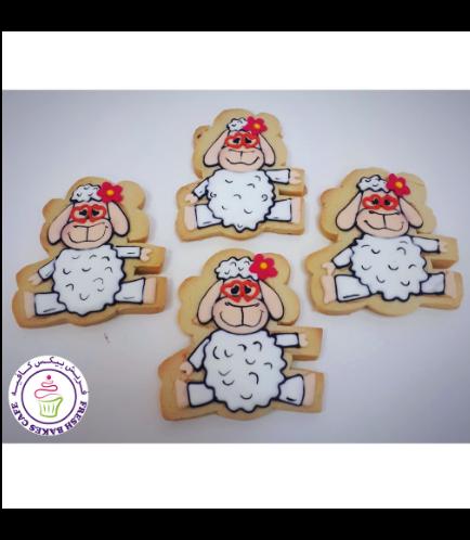 Eid Al Adha Themed Cookies - Sheep - Front 05
