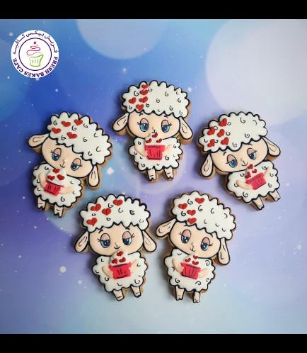 Cookies - Sheep & Cupcake