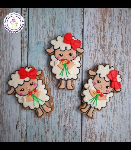 Cookies - Sheep & Flowers 01