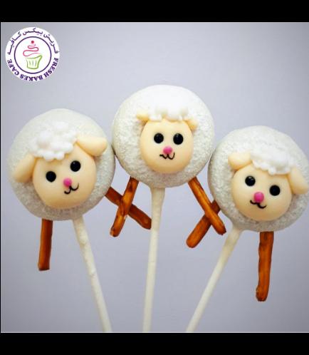 Eid Al Adha Themed Donut Pops - Sheep 02