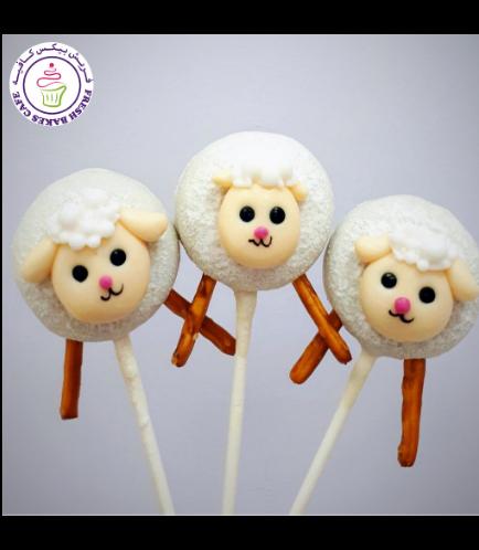 Sheep Themed Donut Pops 02