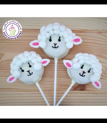 Sheep Themed Donut Pops 03