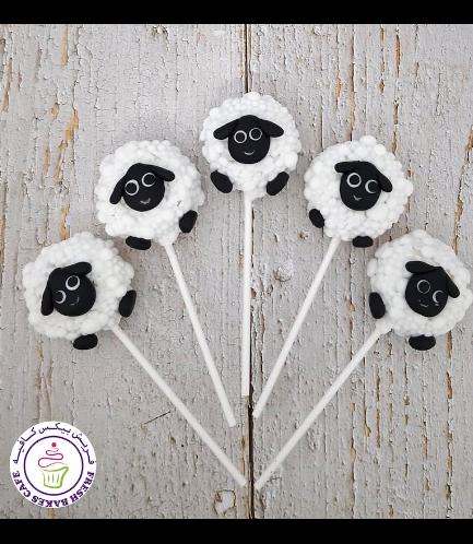Eid Al Adha Themed Donut Pops - Sheep 04