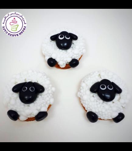 Eid Al Adha Themed Donuts - Sheep 03