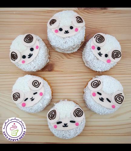 Eid Al Adha Themed Donuts - Sheep 04