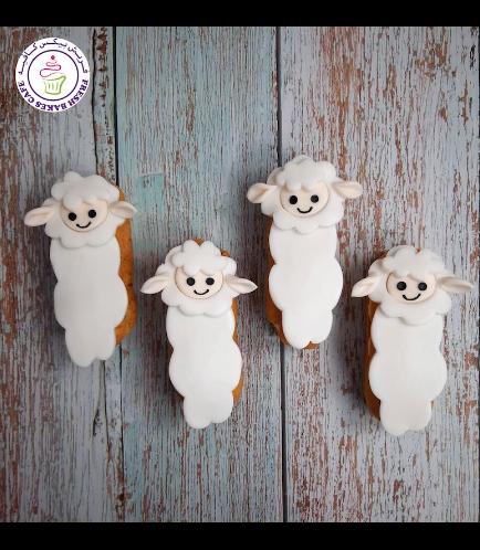Eid Al Adha Themed Eclairs - Sheep 01