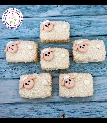 Eid Al Adha Themed Krispie Treats - Sheep 02