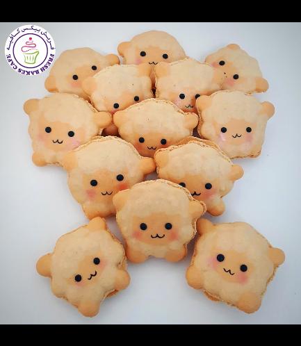 Eid Al Adha Themed Macarons - Sheep