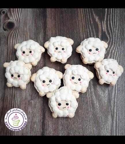 Eid Al Adha Themed Macarons - Sheep 01