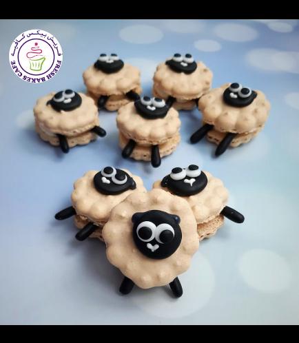 Eid Al Adha Themed Macarons - Sheep 02