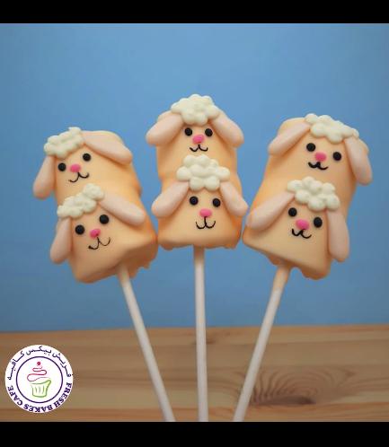 Eid Al Adha Themed Marshmallow Pops - Sheep 02