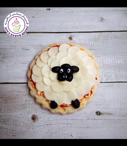 Eid Al Adha Themed Pizza - Sheep