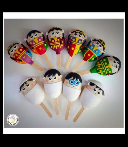 Eid Themed Popsicakes 1