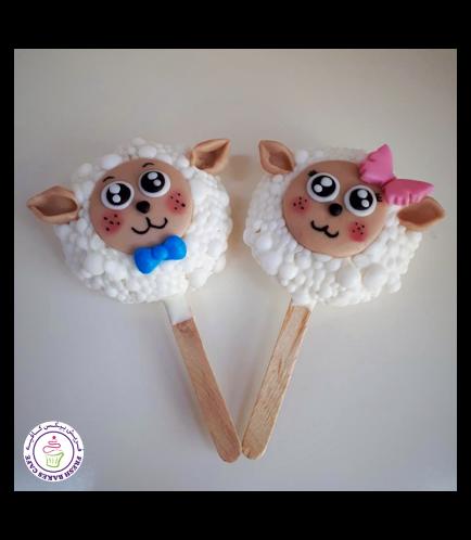 Eid Al Adha Themed Popsicakes - Sheep 01