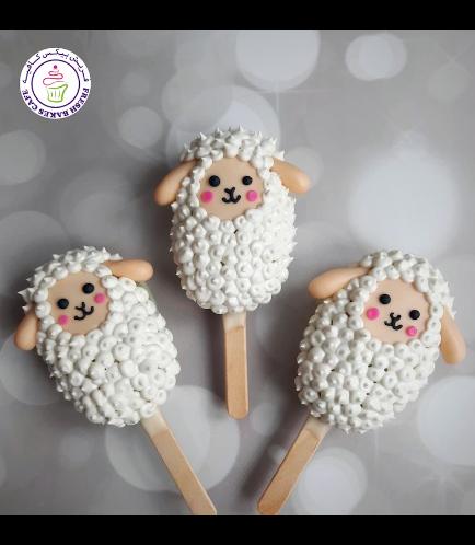 Eid Al Adha Themed Popsicakes - Sheep 07