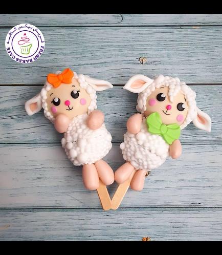 Eid Al Adha Themed Popsicakes - Sheep 02