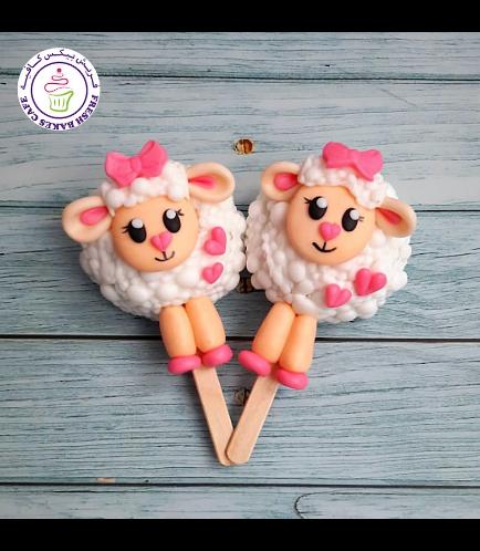 Eid Al Adha Themed Popsicakes - Sheep 03