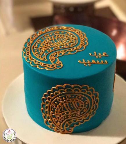 Eid Themed Cake - Cream Design 01