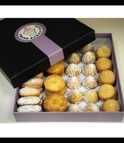 Maamoul Box-Dates, Pistachio, Walnuts, Nutella, & Lotus Biscoff