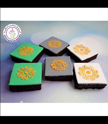 Eid Themed Brownies