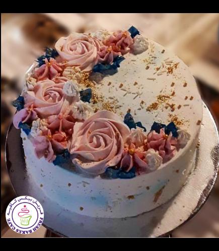 Eid Themed Cake - Buttercream Flowers 01