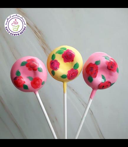 Eid Themed Donut Pops - Roses