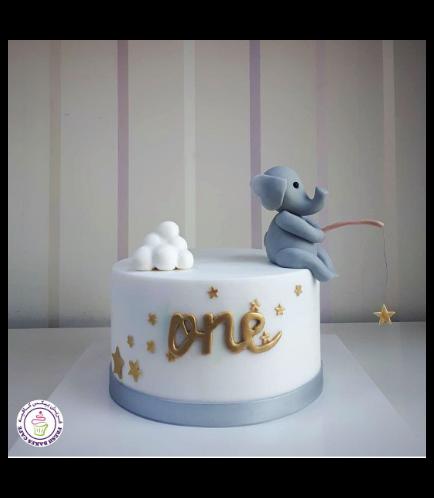 Elephant Themed Cake 8a