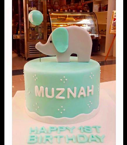 Elephant Themed Cake 1b