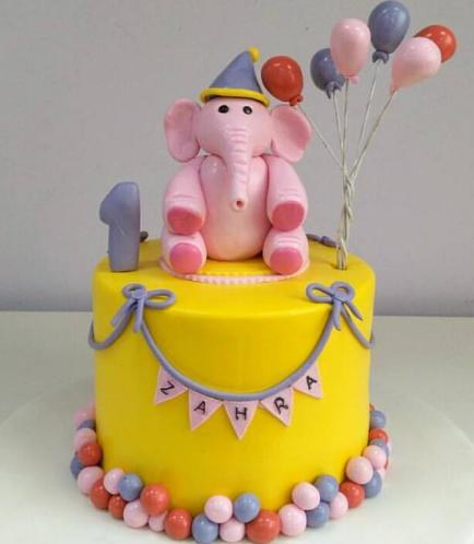 Elephant Themed Cake 02a