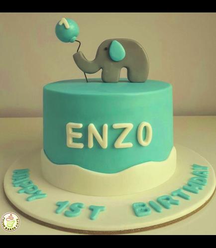 Elephant Themed Cake 1c