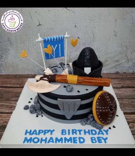 Eltugrul Themed Cake