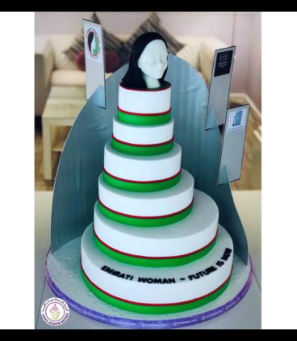 Emirati Women's Day Themed Cake 01a