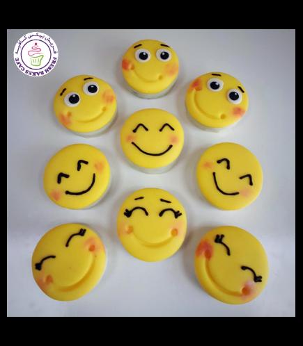 Emoji Themed Chocolate Covered Oreos