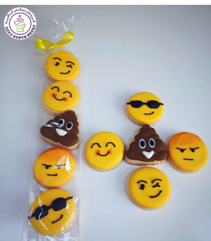 Emoji Themed Cookies - Minis 01