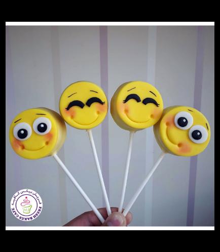 Emoji Themed Donut Pops 04