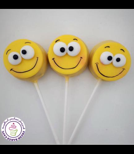Emoji Themed Donut Pops 06
