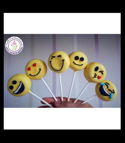 Emoji Themed Donut Pops 05
