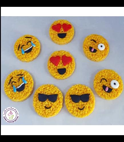 Emoji Themed Krispie Treats