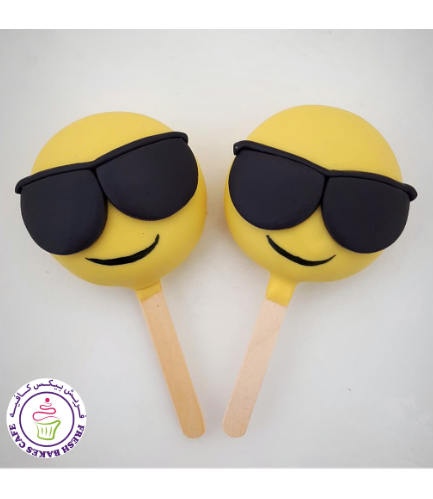 Emoji Themed Popsicakes