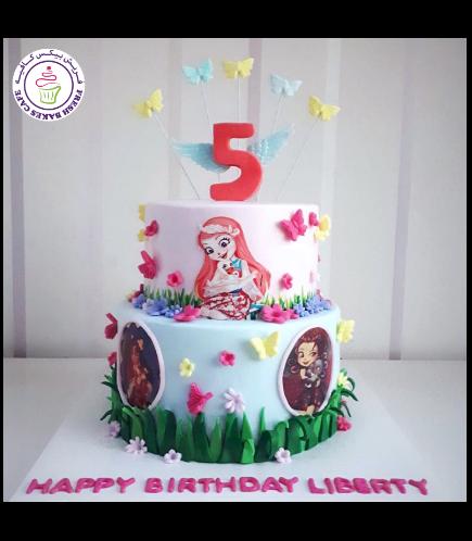 Enchantimals Themed Cake