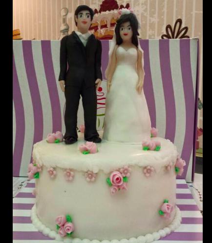 Engagement Themed Cake 01
